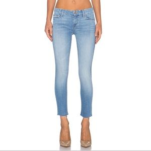 """Mother """"The Looker"""" ankle fray jeans"""